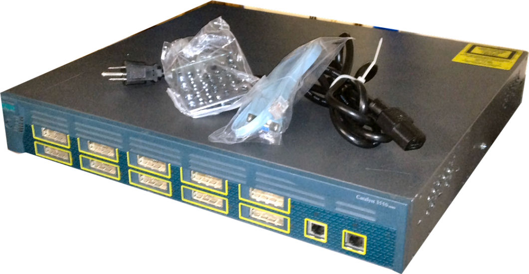 Cisco Catalyst 3550-12G Switch, WS-C3550-12G